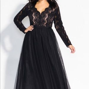 City Chic Dresses - Laced Beauty Maxi Dress- City Chic Plus Size18w